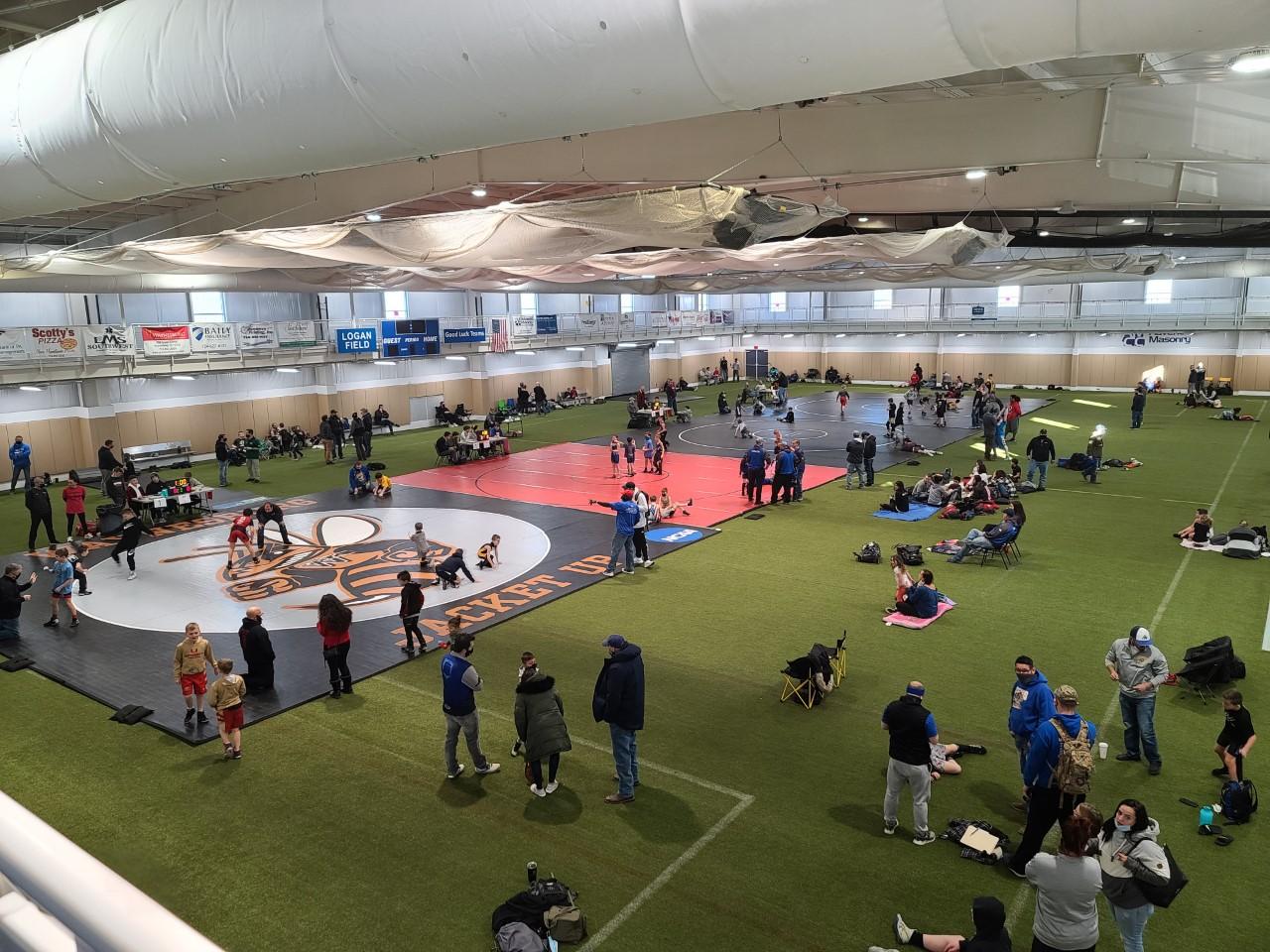 Wrestling Tournament at EQT