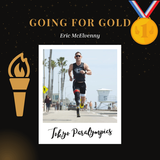 Naval Academy grad Eric McElvenny will soon run in the United States Paralympic Triathlon