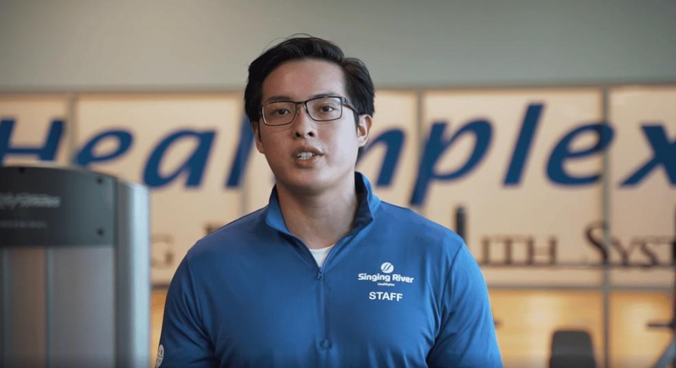 Singing River Healthplex Trainer Tyler Phan