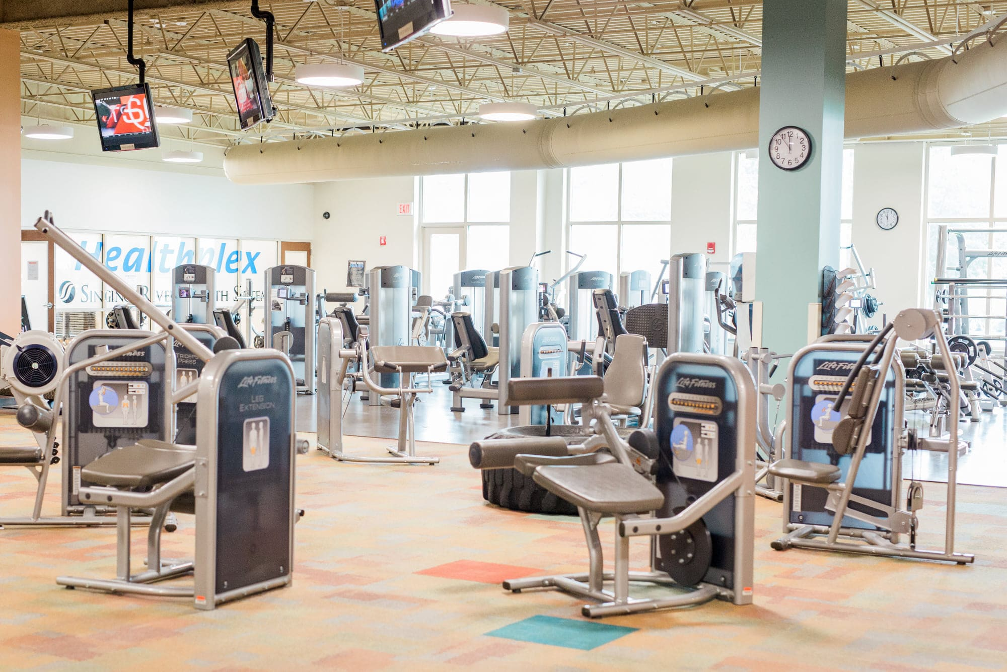 Paul Greer Trains at the Singing River Healthplex